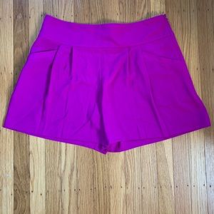 Ann Taylor Loft Fuchsia Dress Shorts NWT